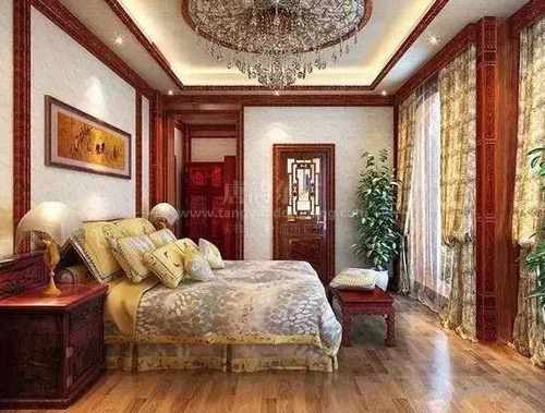 北京新婚90后选购老榆木双人大床