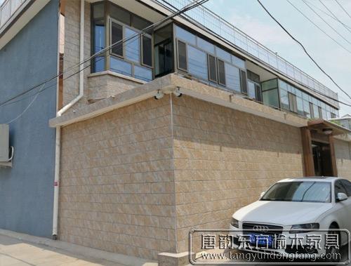 北京丰台刘哥为自家二层小楼购置