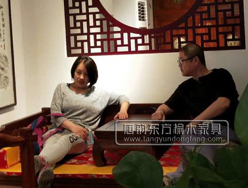 唐韵东方5.1中式榆木家具直购团活